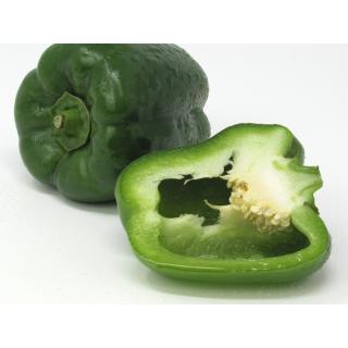 Paprika grün