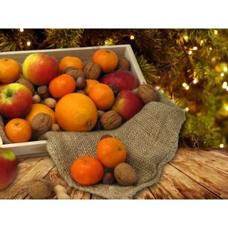 Adventskiste (Citrus + Nüsse) (Nikolaus)