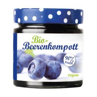 Beerenkompott-Heidelbeere