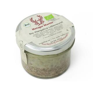 Mangalica Leberwurst im Glas (MM)