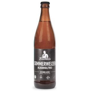 Buschbecks Sommerweizen alkoholfrei 9x0,5l - Kiste