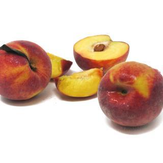 Pfirsiche gelb Cal. A-B - 3kg Gebinde