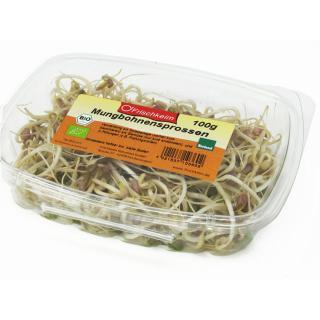 Sprossen - Mungobohnen Schale 100g*