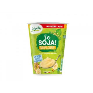 Sojajoghurt Banane-Maracuja (400g) - Sojade