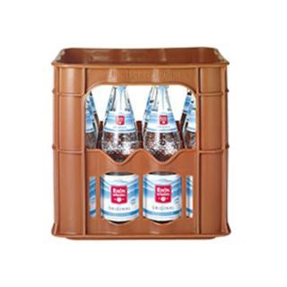 Rhönsprudel, spritzig Glas Kiste