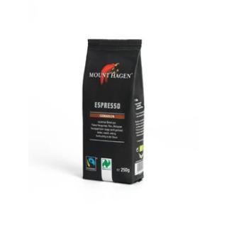 Mount Hagen Espresso, gemahlen