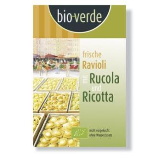 Ravioli Rucola-Ricotta, frisch