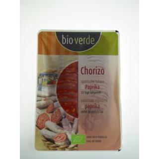 Chorizo-Paprika-Salami Aufschnitt
