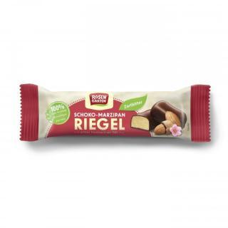 Riegel - Schoko-Marzipan,  Zartbitter