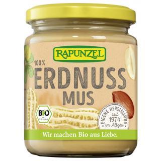 Erdnussmus fein - Rapunzel - 250g