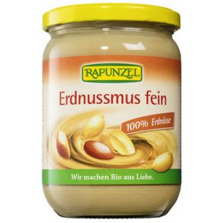Erdnussmus fein - Rapunzel - 500g