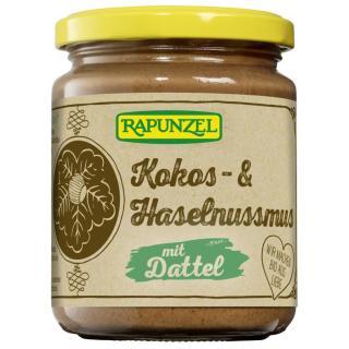 Kokos- & Haselnussmus mit Dattel