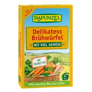 Gemüse-Brühwürfel Delikatess mit viel Gemüse
