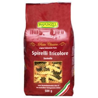 Spirelli Tricolore Semola (hell und bunt)