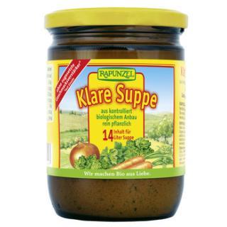 Klare Suppe mit Bio-Hefe, 250g