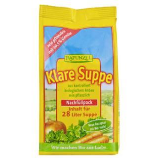 Klare Suppe mit Bio-Hefe -Nachfüllpack