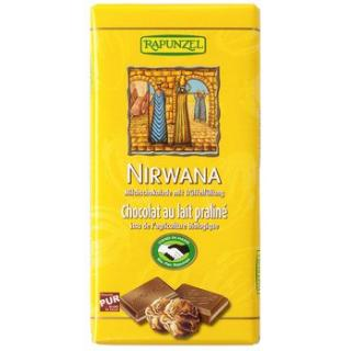 Nirwana gefüllte Rapadura-Schokolade