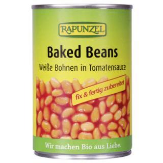 Baked Beans in der Dose, Weiße Bohnen in Tomatensauce