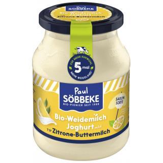 Frühlingsjoghurt Buttermilch-Zitrone 3,7%