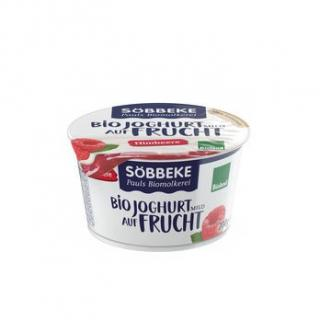 Himbeere - Joghurt auf Frucht