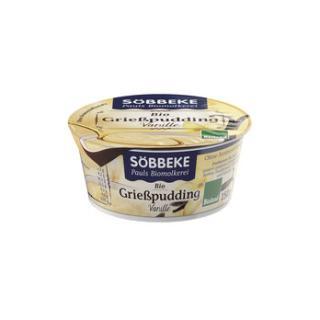 Grieß-Pudding Vanille