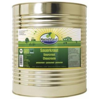 Sauerkraut in der Dose 10,2 l