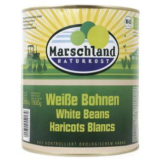 Weiße Bohnen in der Dose 3,1 l