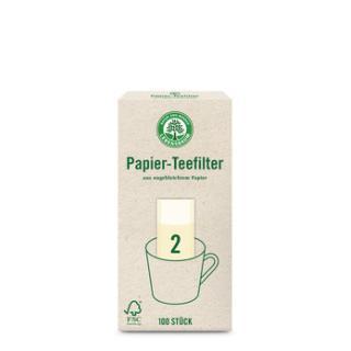 Teefilter Papier ungebleicht