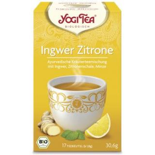 Yogi Tee Ingwer Zitrone