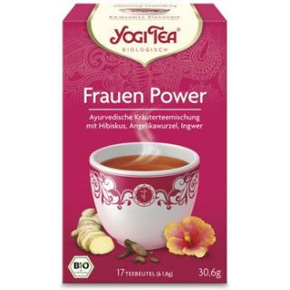 Yogi Tee, Frauen Power