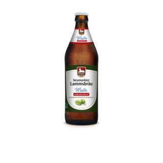 Lammsbräu ALKOHOLFREI Hefe weiß, 0,5l - Kiste