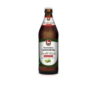 Lammsbräu ALKOHOLFREI dunkles Hefeweizen 0,5l - Kiste
