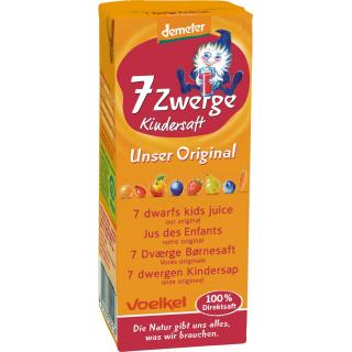 Sieben-Zwerge-Kindersaft Tetra Pak, 200 ml
