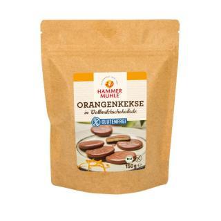 Orangenkekse in Vollmilchschokolade