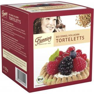 Torteletts - Dinkel - 6 Stück