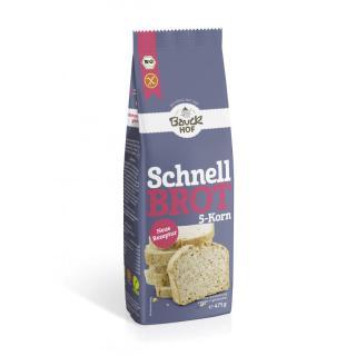 Schnellbrot 5-Korn - glutenfrei