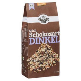 Dinkel-Müsli Schokozart