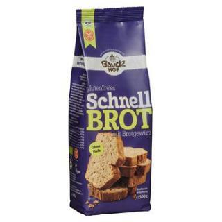Schnellbrot, mit Brotgewürz - glutenfrei
