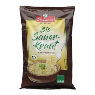 Sauerkraut im Beutel