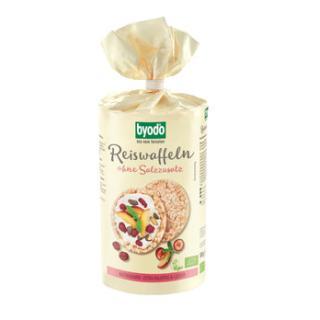 Reiswaffeln ohne Salzzusatz