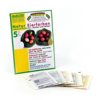 Ostereierfarben - 5 Naturtöne