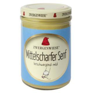 Senf - mittelscharfer (Glas)