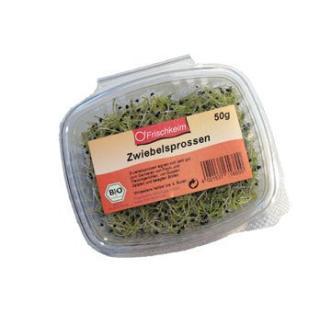 Sprossen - Zwiebelsprossen 50g-Schale*
