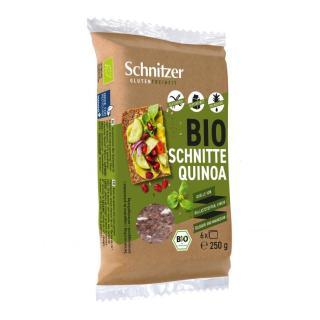 Black Quinoa Schnitten - gf