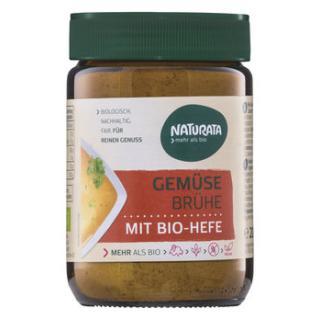 Gemüsebrühe mit Bio Hefe