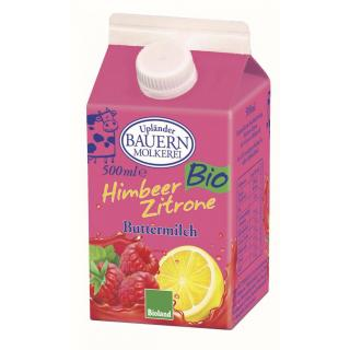 Buttermilch Himbeer-Lemon, 500ml Tetra