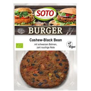 Cashew-Black Bean Burger   2er