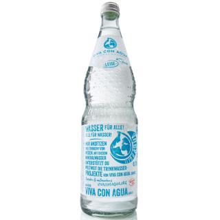 "Viva con Agua ""leise"" - Glas GDB 12x0,7l"