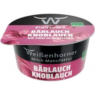 Bärlauch-Knoblauch-Frischcreme Weißenhorner