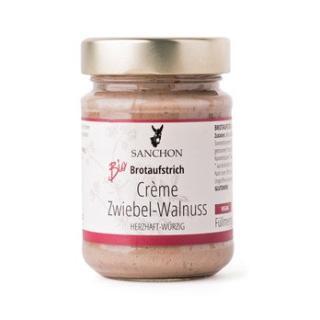 Crème Zwiebel Walnuss, Brotaufstrich